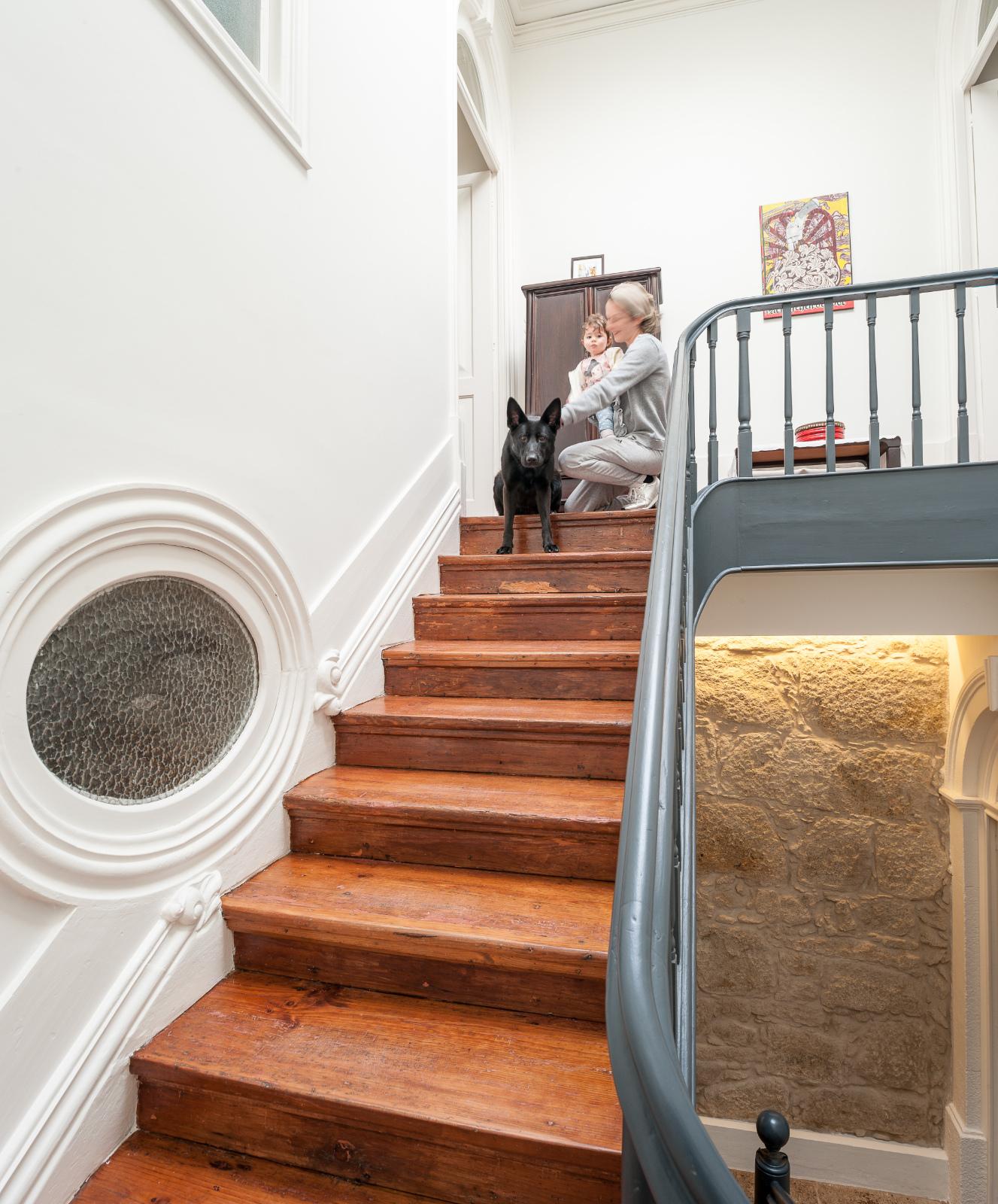 Casa Boavista Escada central